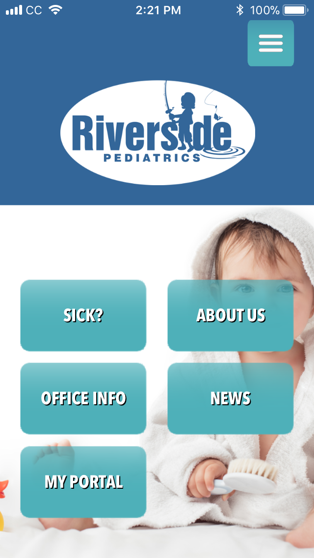 Get Our Mobile App | Georgetown, SC | Riverside Pediatrics