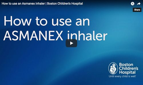 How to Use an ASMANEX Inhaler , ,